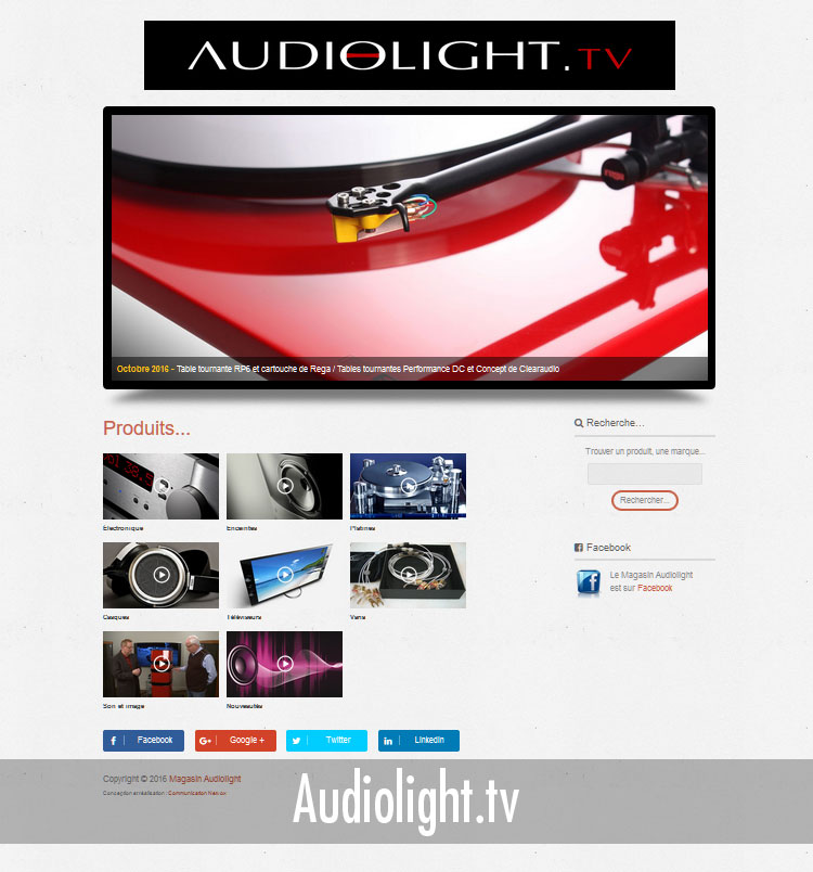 Site Audiolight