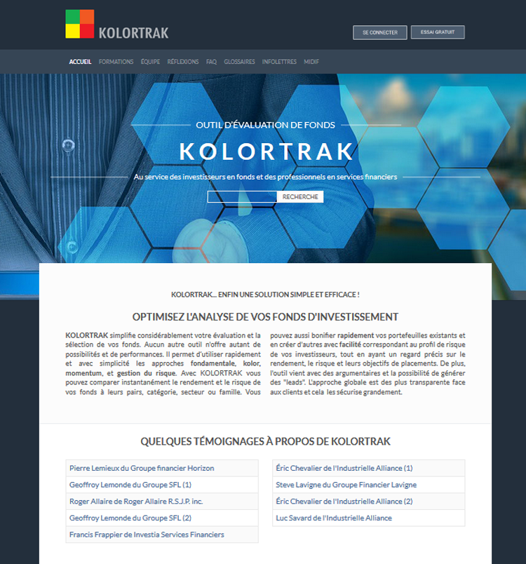 Site Kolortrak